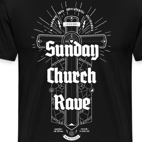 Sunday Church Rave - Men's Premium T-Shirt