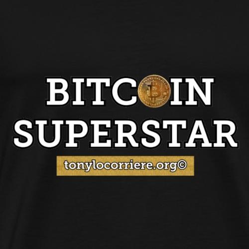 bitcoin superstar - Maglietta Premium da uomo