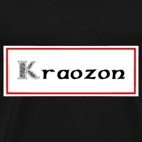 kraozon crozon - T-shirt Premium Homme