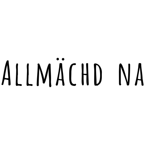 Allmächd na amatica - Männer Premium T-Shirt