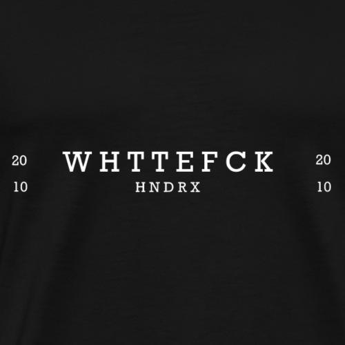 WTF white - Men's Premium T-Shirt