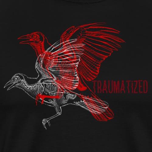 Traumatized Birds - Männer Premium T-Shirt