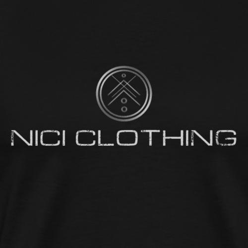 NICI LOGO - Miesten premium t-paita