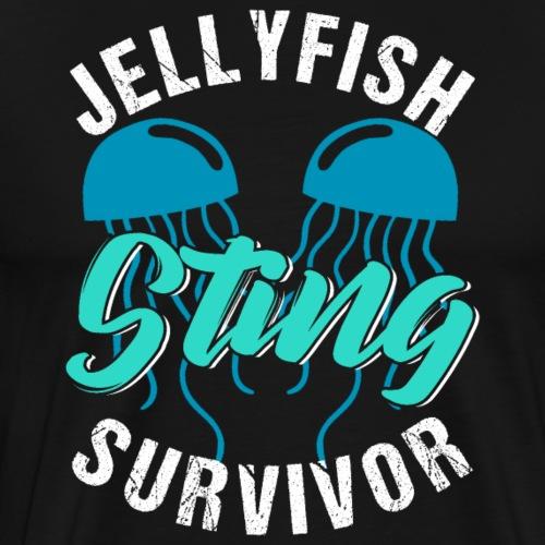 Jellyfish Sting Survivor - Männer Premium T-Shirt