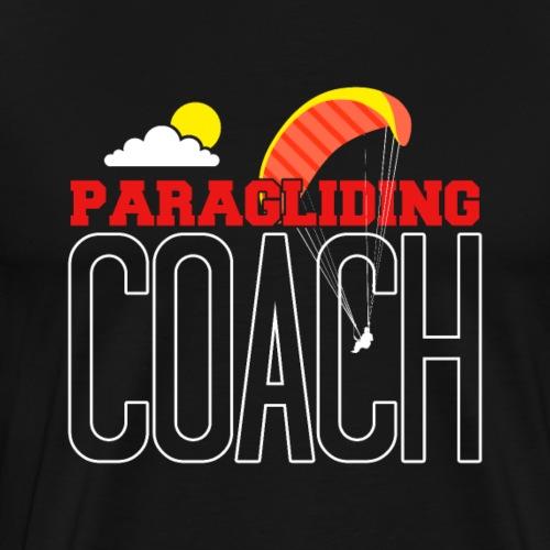Paragliding Coach - Männer Premium T-Shirt