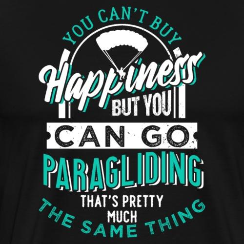 Paragliding Happiness - Männer Premium T-Shirt