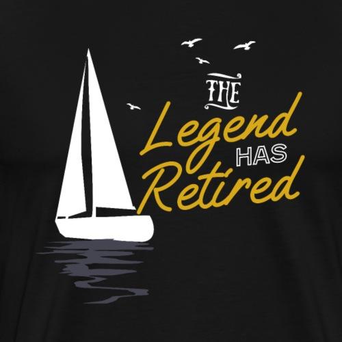 The Legend Has Retired - Männer Premium T-Shirt