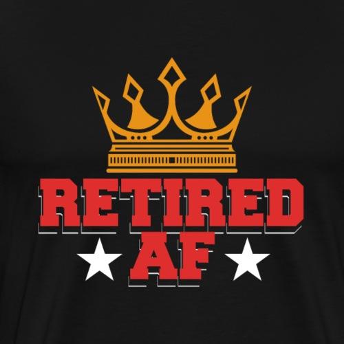 Retired AF Retirement - Männer Premium T-Shirt