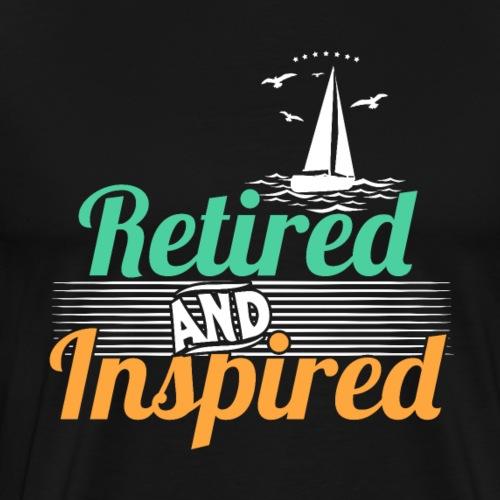 Retired And Inspired - Männer Premium T-Shirt