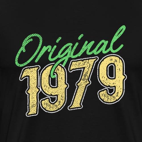 1979 Original Funny Birthday Gift - Männer Premium T-Shirt