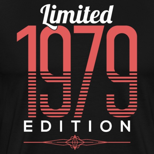 Limited Edition 1979 40th Birthday - Männer Premium T-Shirt
