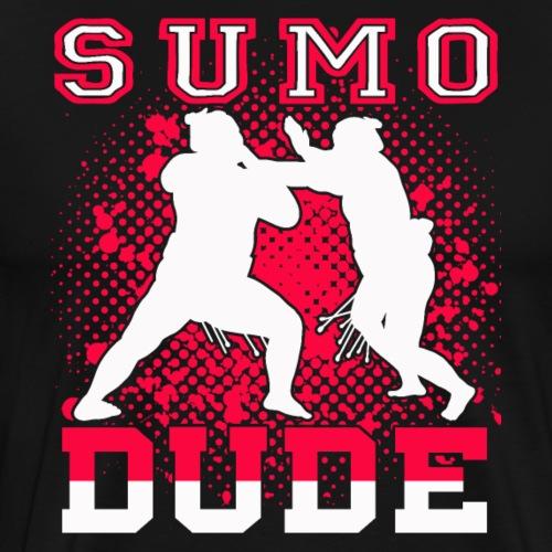 Sumo Dude Wrestling Fan Gift - Männer Premium T-Shirt