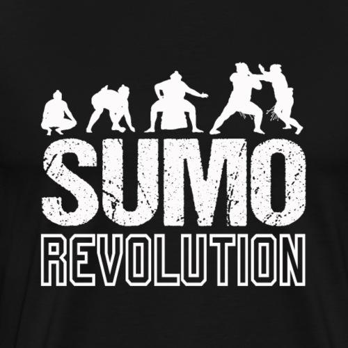 Sumo Revolution Wrestling Fan Gift - Männer Premium T-Shirt