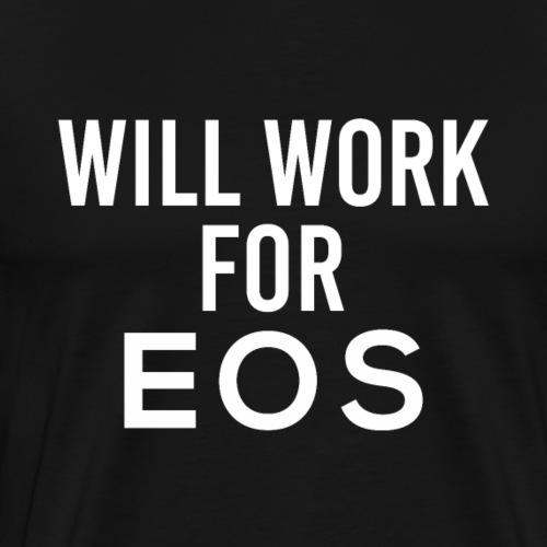 EOS Cryptocurrency Hodler Trader Tech Geek - Männer Premium T-Shirt