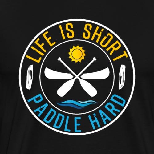 Kayaking Fan Sport Lover Canoeing - Männer Premium T-Shirt