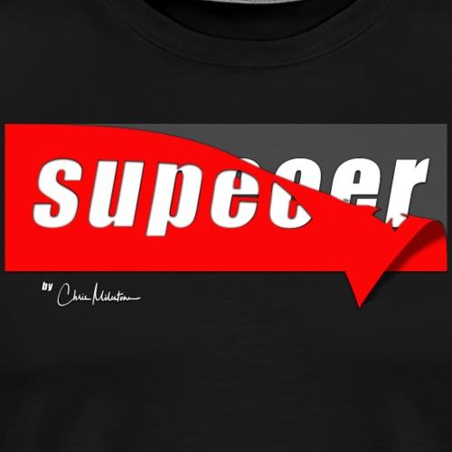 Supeeer by ChrisMilestone - Männer Premium T-Shirt