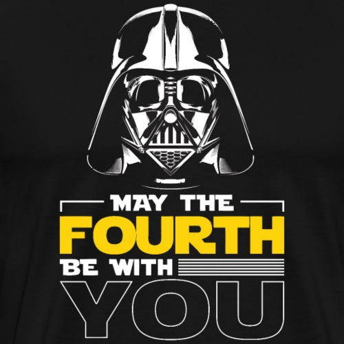 May the fourth be with you - Männer Premium T-Shirt
