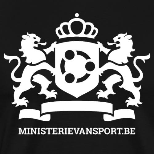 Ministerie van Sport Logo - Mannen Premium T-shirt