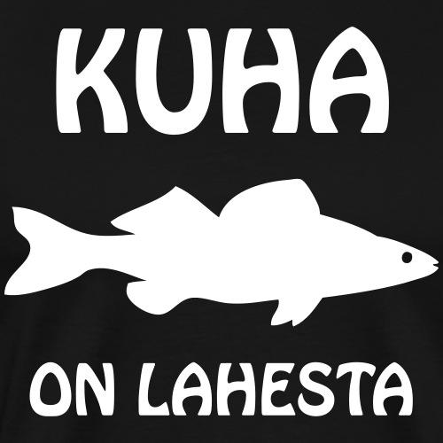 KUHA ON LAHESTA - Miesten premium t-paita