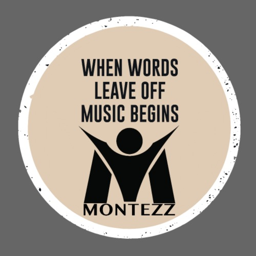 RM - When words leave of music begins - Men's Premium T-Shirt