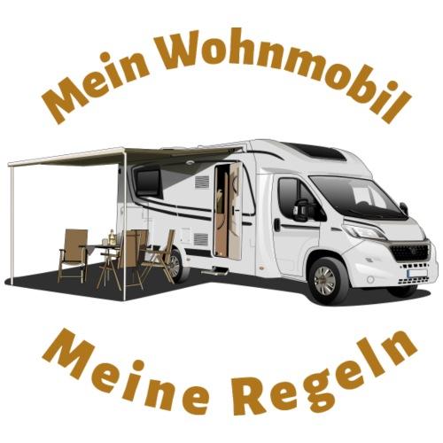 Mein Wohnmobil, meine Regeln teilintegrirtes WoMo - Männer Premium T-Shirt
