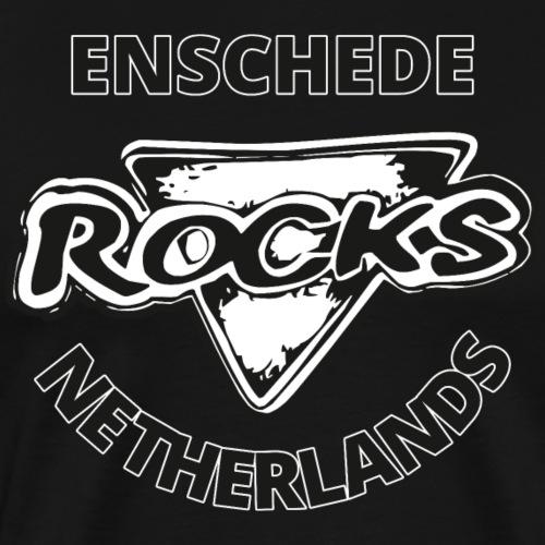 Rocks Enschede NL B-WB - Mannen Premium T-shirt
