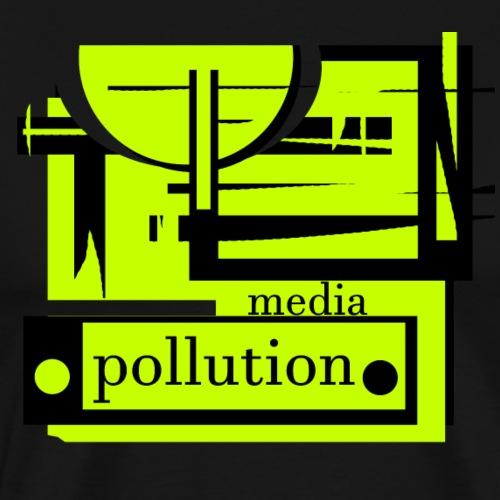 Media pollution - T-shirt Premium Homme