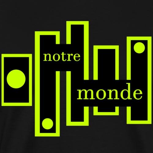 Notre monde - T-shirt Premium Homme