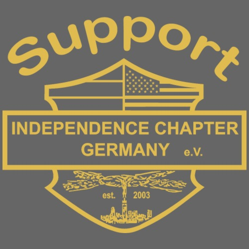 Support Indis gold - Männer Premium T-Shirt