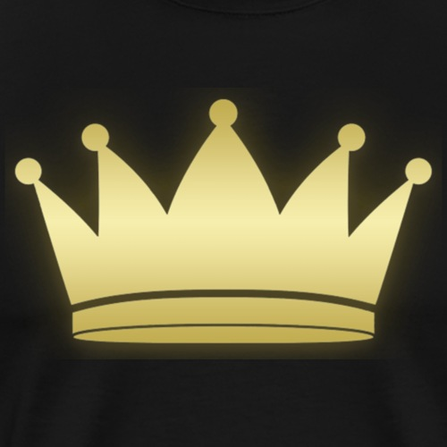 Paradise Crown Gold - Mannen Premium T-shirt