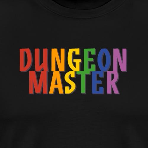 Dungeon Master Pride (Rainbow) - Men's Premium T-Shirt
