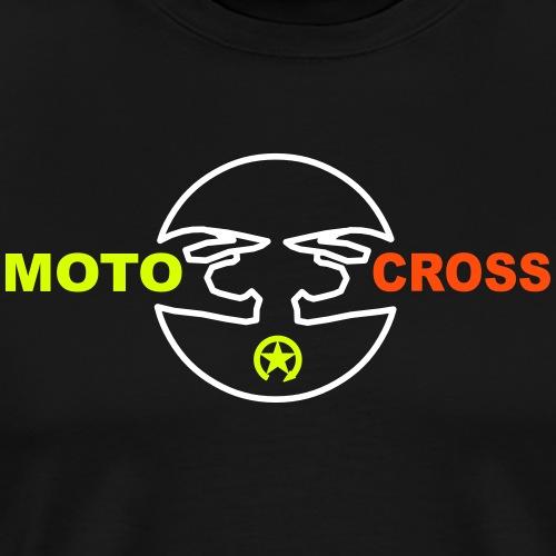 Kask motocrossowy - Koszulka męska Premium