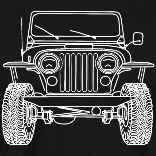 Jeep CJ 8 Scrambler - T-shirt Premium Homme
