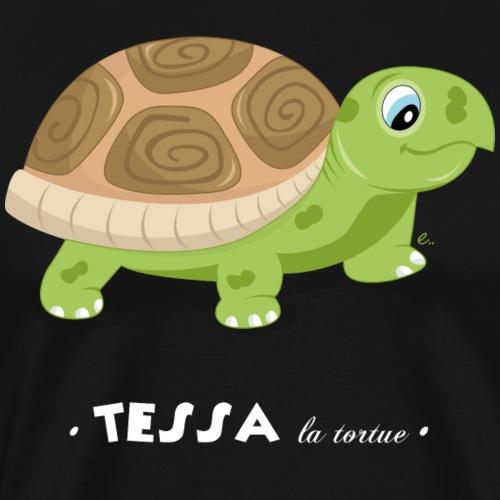Tessa la tortue - T-shirt Premium Homme