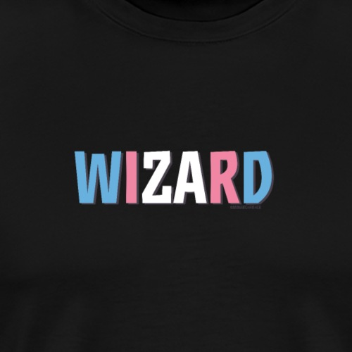Pride (Trans) Wizard - Men's Premium T-Shirt