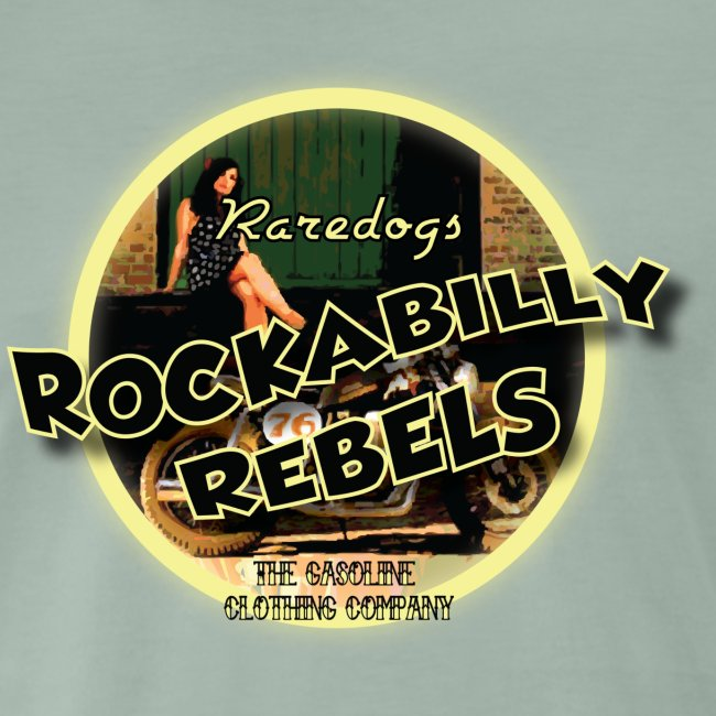 rockabilly rebels pinup