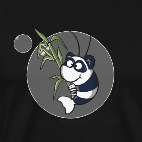Panda Garnele - Männer Premium T-Shirt