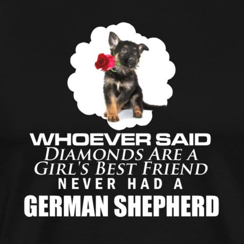 GSD - better then diamonds - Men's Premium T-Shirt