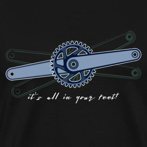 Moutainbike_Kurbel_1 - Männer Premium T-Shirt