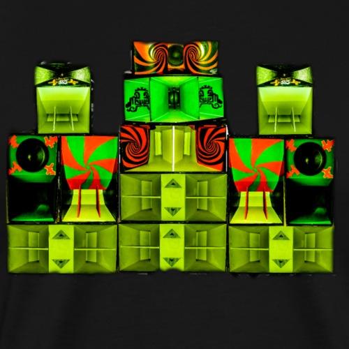 Mehrcore23soundsystem - Männer Premium T-Shirt