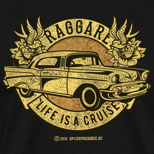 Raggare Life Is A Cruise Sepia - Männer Premium T-Shirt