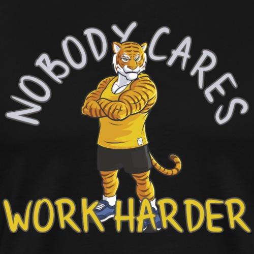 Motivationsspruch Fitness Workout Trainer Shirt - Männer Premium T-Shirt