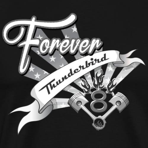 Forever V8 Thunderbird - Premium-T-shirt herr
