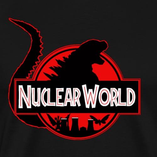Radioaktiv värld - Premium-T-shirt herr