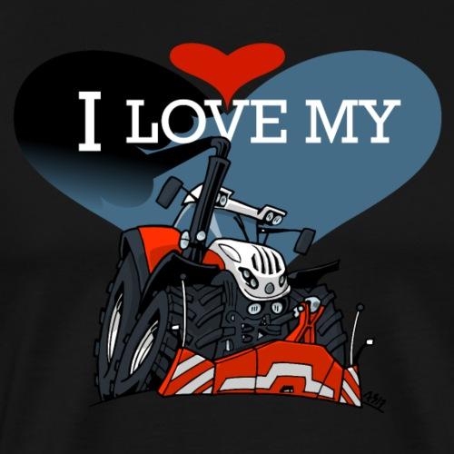 0841 0559 I love my S - Mannen Premium T-shirt