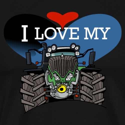 0841 0521 I love my F - Mannen Premium T-shirt