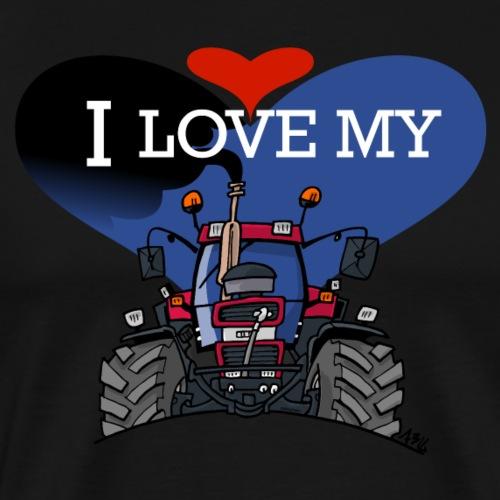 0841 0505 I love my IH - Mannen Premium T-shirt