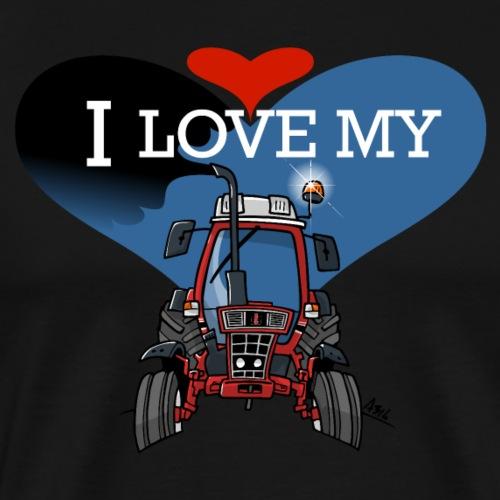0841 0477 I love my IH - Mannen Premium T-shirt