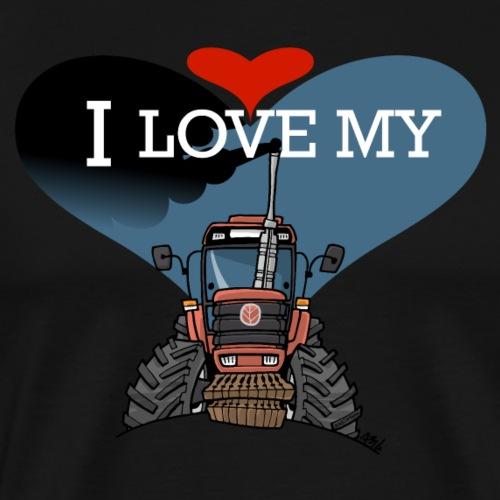 0841 0436 I love my F - Mannen Premium T-shirt