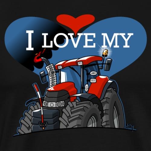 0841 0844 I love my CIH def - Mannen Premium T-shirt